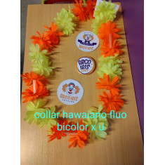 Collar Hawaiano Margarita X 5 - Flowertime                                     Primavera