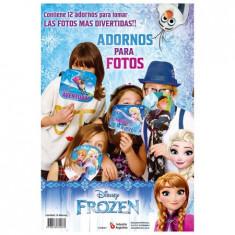Frozen Co Foto Booth  X 12. - - Adorno Para Foto