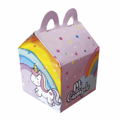 Unicornio Gm Cajita Gm Feliz X 5