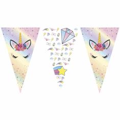 Unicornio Dream Banderin Triangular X U - Gm