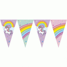 Unicornio Gm Banderin Triangular X U
