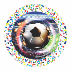Futbol Gm Platos X 10 U.