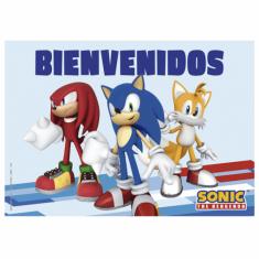 Sonic Gm Poster Bienvenidos X U