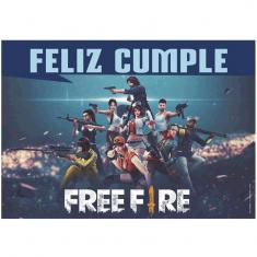 Free Fire Gm Poster X U