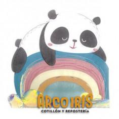 Panda Servilletas C/ Forma X 12                                        -party Store-