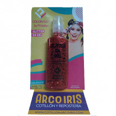 Glitter En Gel Rojo X U. -40 Ml-