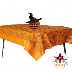 Hallo Mantel Fiselina X U. 2x1- Telaraña 1.20x1.80mt Varios Colores  Halloween