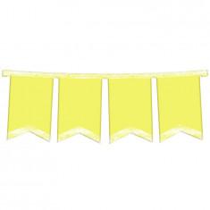 Banderin Amarillo Pastel  Articulado-multicolor