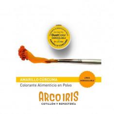 Dust Color Hidrosoluble Amarillo Curcuma X U.colorante Polvo Hidrosoluble                           Pascua