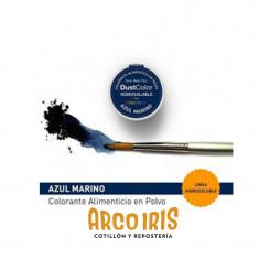 Dust Color Hidrosoluble Azul Marino X U.colorante Polvo Hidrosoluble                           Pascua