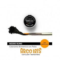 Dust Color Hidrosoluble Negro Humo X U.colorante Polvo Hidrosoluble                           Pascua