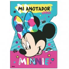 Minnie Co Anotador Con Forma X 8
