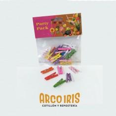 Broche Mad.color N 2.5 X 24 U. -multicolor-