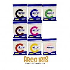 Nicron Color X 250 Gs +20-5% / +40-10% - Caja X 40 U. Porcelana Fria-rosa-roja-marron-verde-amarillo-azul-negro-piel-