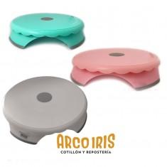 Mini Base Giratoria Plastica Doña Clara-varios Colores-