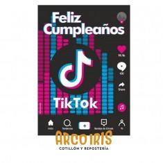 Tik Tok Poster Feliz Cumpleaños X U