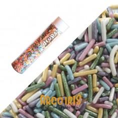 Drops Perlas Granas Surtida Tubo X 50 G Vs Colores- Pastelar- Pastillaje Para Decoracion