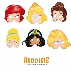 Princesas Co Antifaz X 10 - Mascara
