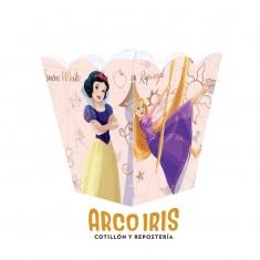 Princesas Co Pochoclera X 6 U