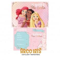 Princesas Co Invitacion X 10