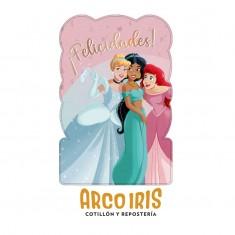 Princesas Co Piñata De Carton Xu