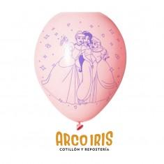 Princesas Co Globos Latex X 15