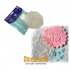 Cool Pad-sellos 12 X 12 Cm -coll Stamp-almahadilla Fria- La Botica