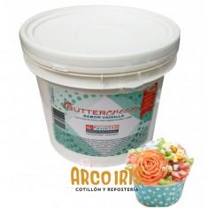 Buttercream X 2.500 Kg Sabor Crema Chantilly/vainilla-frutilla-limon-chocolate-pastelar-