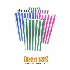 Bolsa Caramelera X 10 Rayas Colores Varios +5-5% Murillo