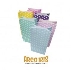 Bolsa Caramelera X 10 Lunares Colores Varios +5-5% Murillo