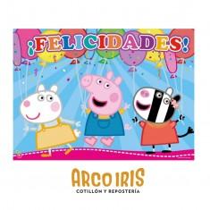 Pig Afiche Feliz Cumple X U Peppa
