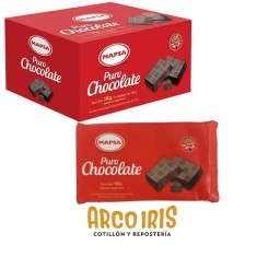 Chocolate Mapsa P/taza En Barra Caja De 10 X 100 G - Sin Tac Familiar           Pascua
