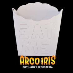Caja P/papas Fritas 10x104 Cm X 10 U. Fraccionado - Eat Me