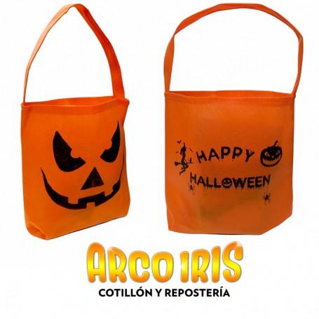 Caramelera Fise Hal X 10 -ecologica-20x19cm- Hal Bolsita Fise Impresa Halloween