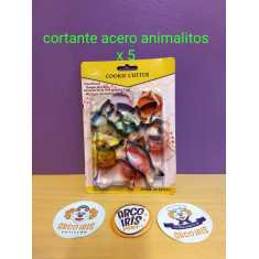 Cortante Acer. Animalitos X 5 --cookie Cutter-