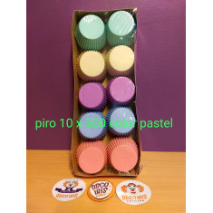 Piro 10 X 500 Color Pastel- Moldpack- Caja