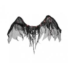 Ala Angel Negro Led X U 120 X 50 Cm -party Store