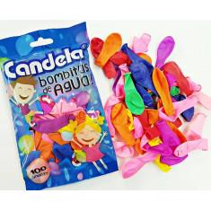 Bombitas Carnaval Candela 50 X 100 - Bolson Con 50 Paquetes De 100 Bomitas De Carnaval - Primera Calidad - No Bombucha