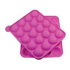 Silicona Molde Cake Pops 20 Cavid. X U   Dos Lembas -liquidacion-