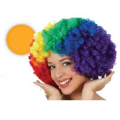 Pel. Afro Multicolor X U                                    -party Store-risata-
