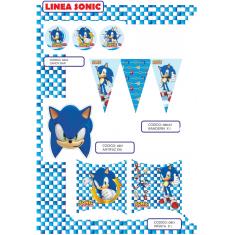 Sonic Gm Banderin Triangular X U
