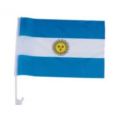 Bandera Tela P/ Auto  X U -                                        Mundial- Party Store