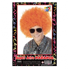 Pel. Afro Naranja X U                        -party Store