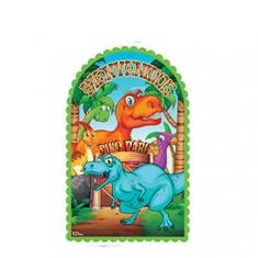 Dino Park Poster Troquelado X 2
