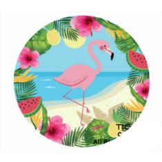 Flamingo Platos X 10