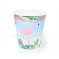 Flamingo Vasos X 10
