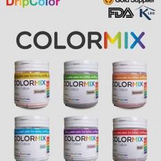 Color Mix Arco Iris Naranja X 60 Gs X U. -sabor Vainilla-color Y Sabor
