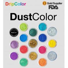 Dust Color Platinum Dorado Medio X U.  - Colorante Polvo Brillo                          Pascua