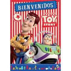 Toy Story Co Afiche Bienv. C/ Recor. X U