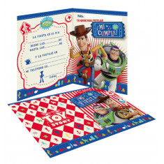 Toy Story Co Invitacion X 10